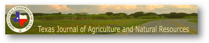 Texas Journal of Agriculture and Natural Resources